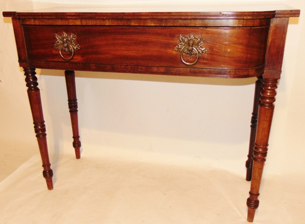 scottish georgian mahogany serving table circa 1825