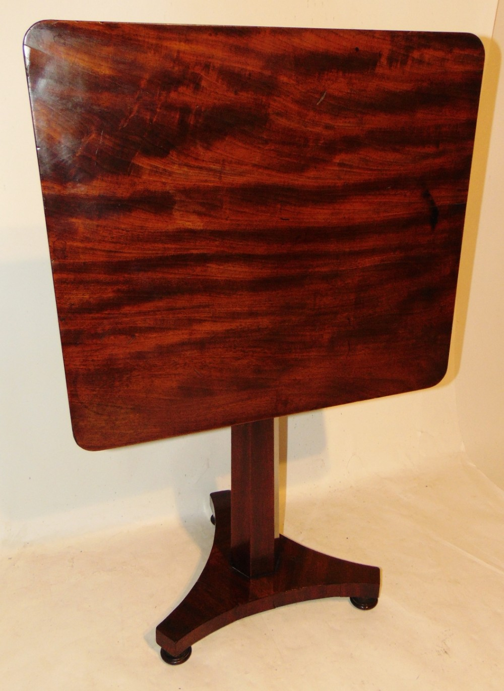 regency mahogany pedestal table circa 1820