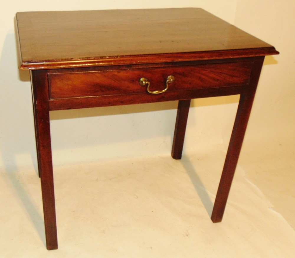 georgian mahogany side table circa 1770