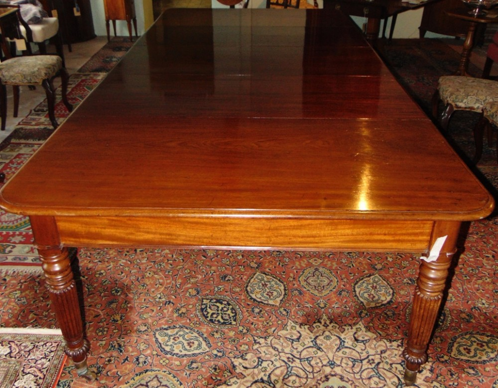 large regency mahogany gillows dining table circa 1830