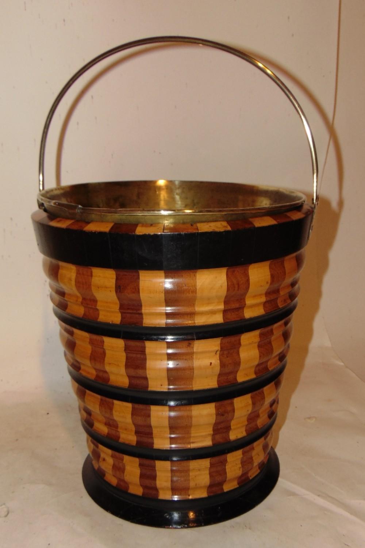 dutch 'stripy' bucket circa 1810