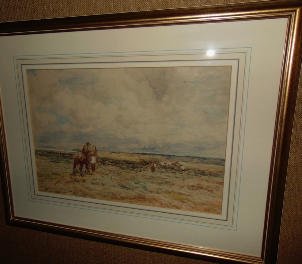 victorian watercolour by claude hayes 18551922