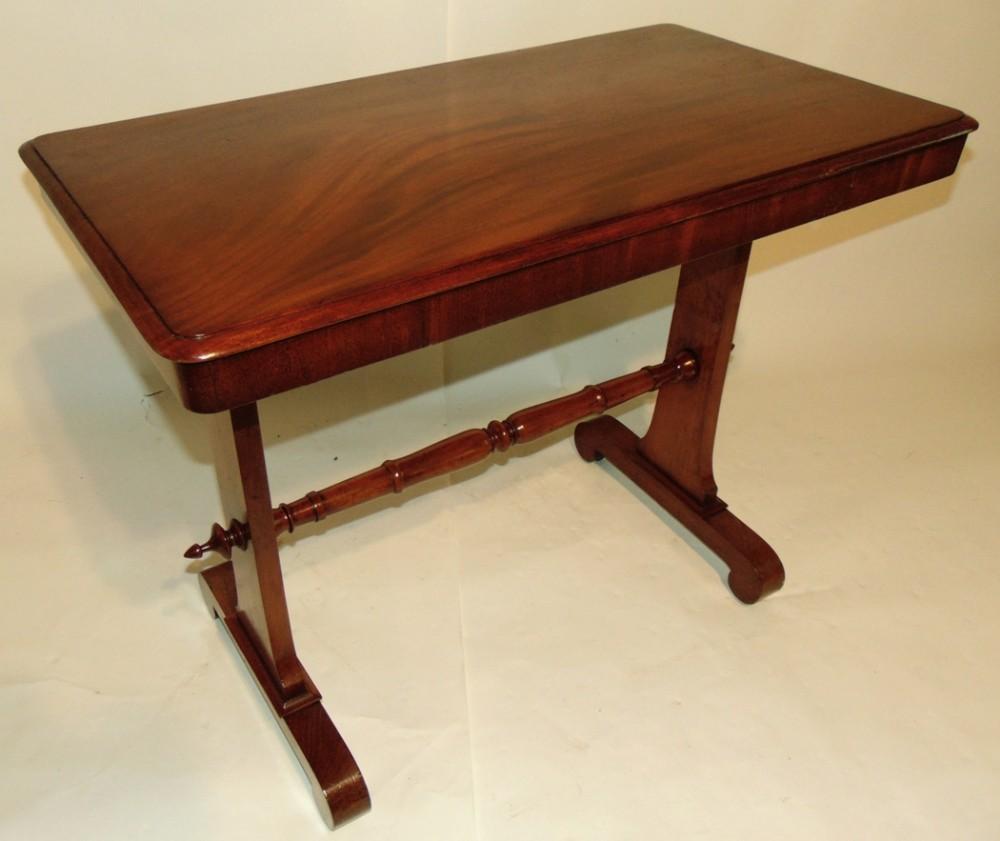regency mahogany centre table circa 1825