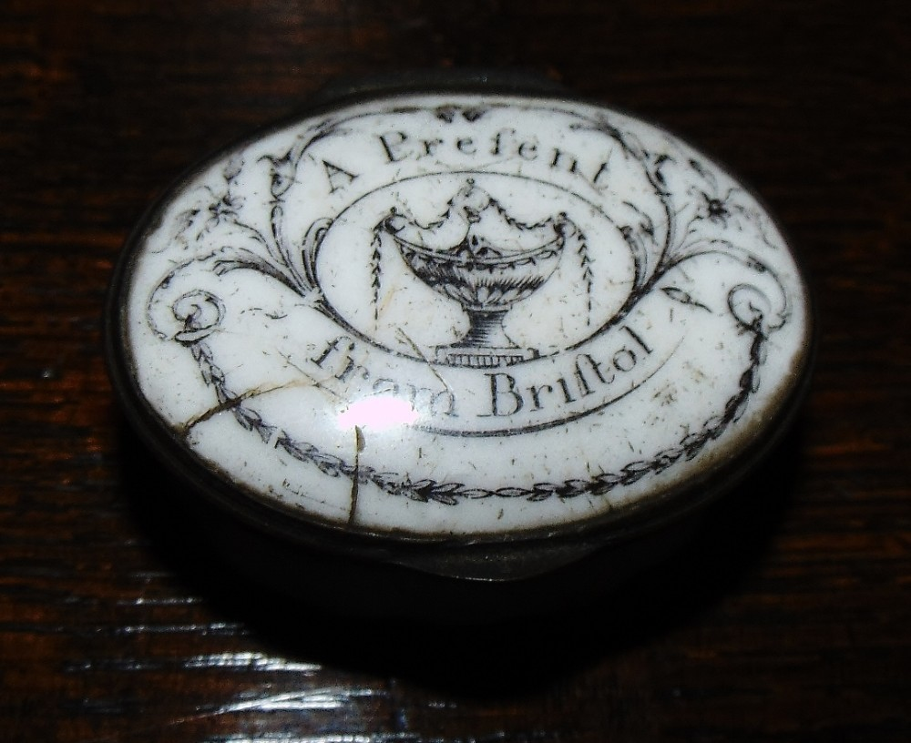 georgian battersea enamel patch box circa 1775