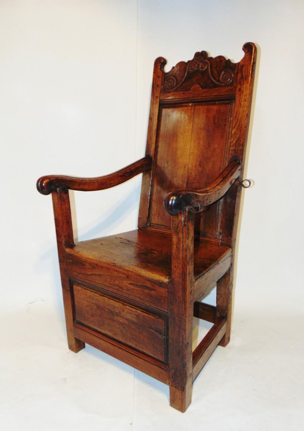 french louis xiv cherrywood armchair circa 1680