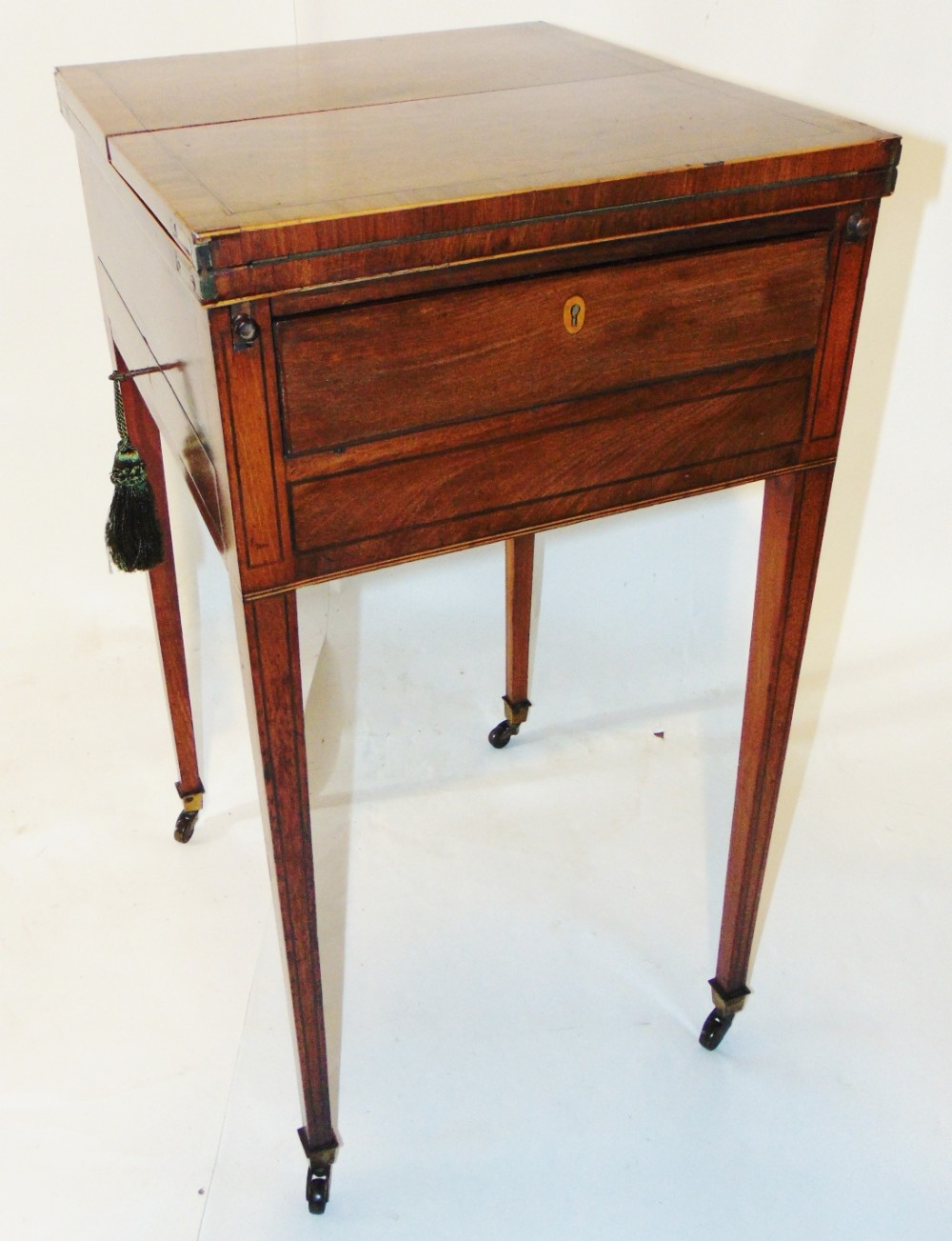 georgian mahogany patience table circa 1790