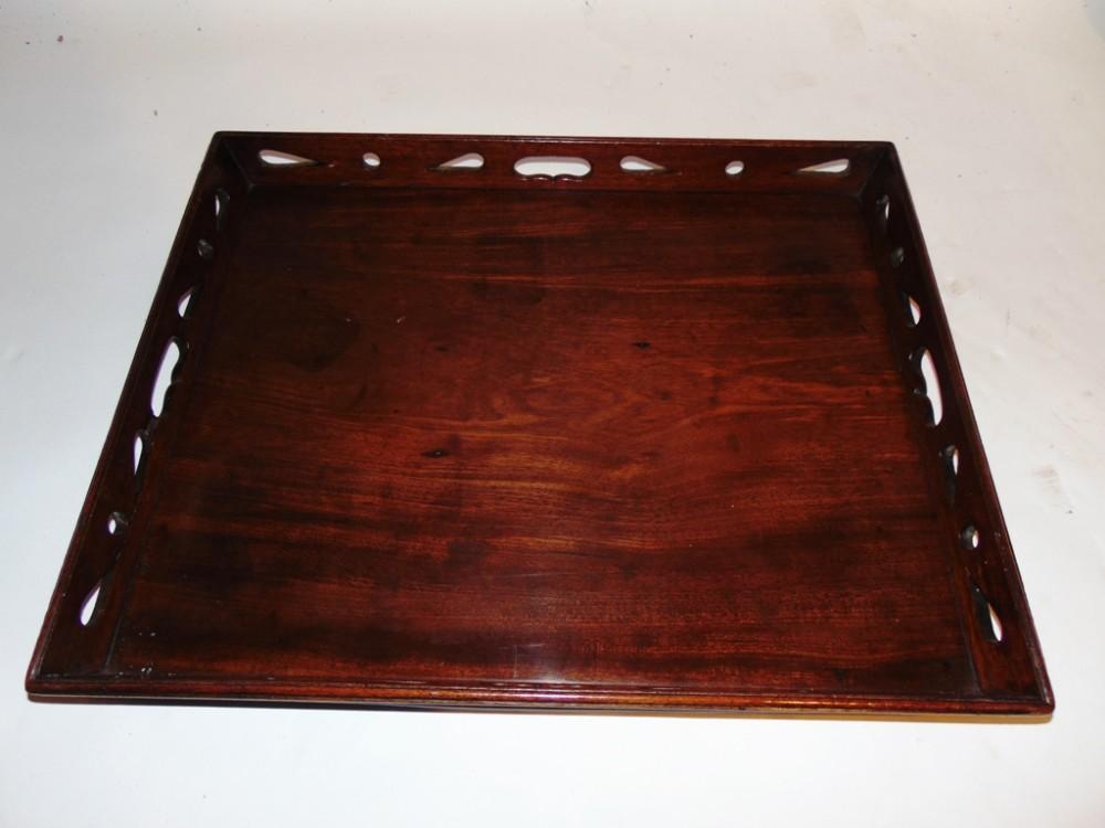 george iii mahogany tray circa 1765