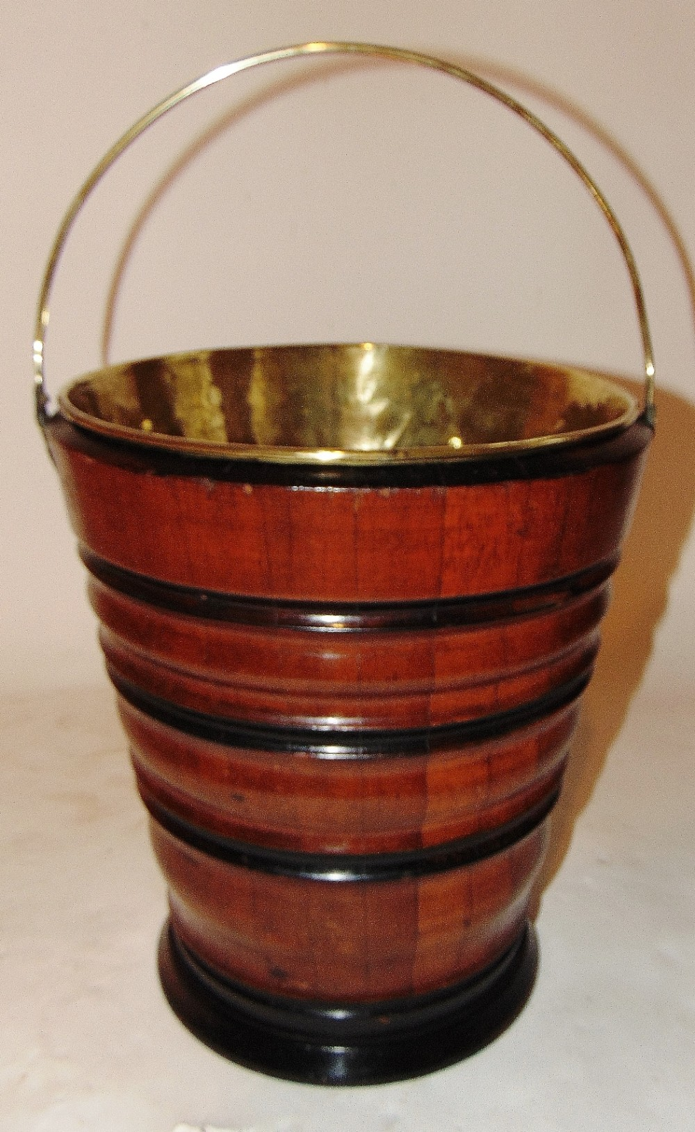 dutch turned and coopered bucket circa 1800