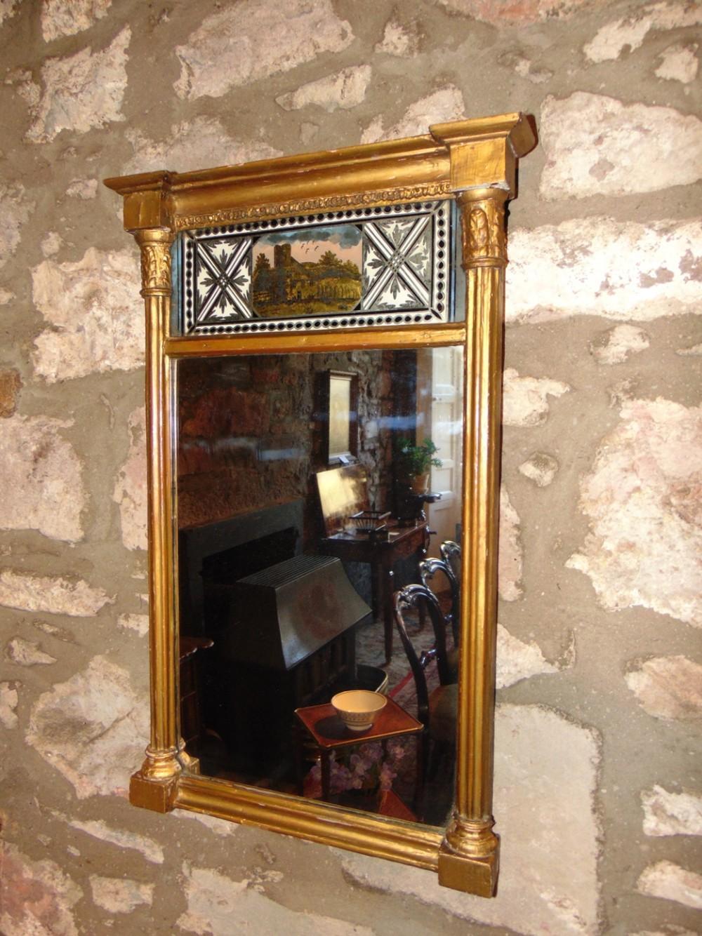 regency gilt pier mirror circa 1815