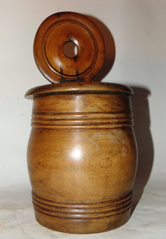 large scottish hanging salt box circa 1850
