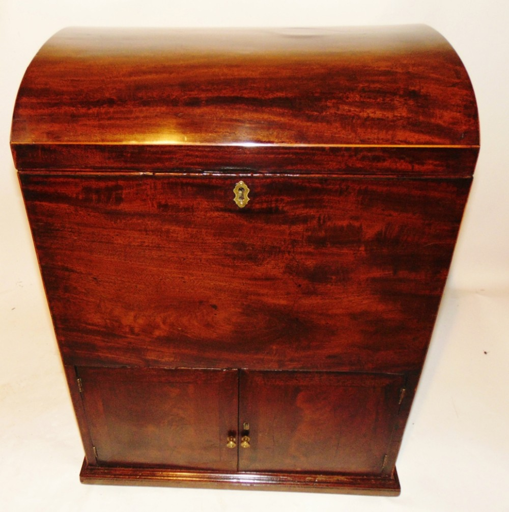 large georgian mahogany cellarette circa 1790