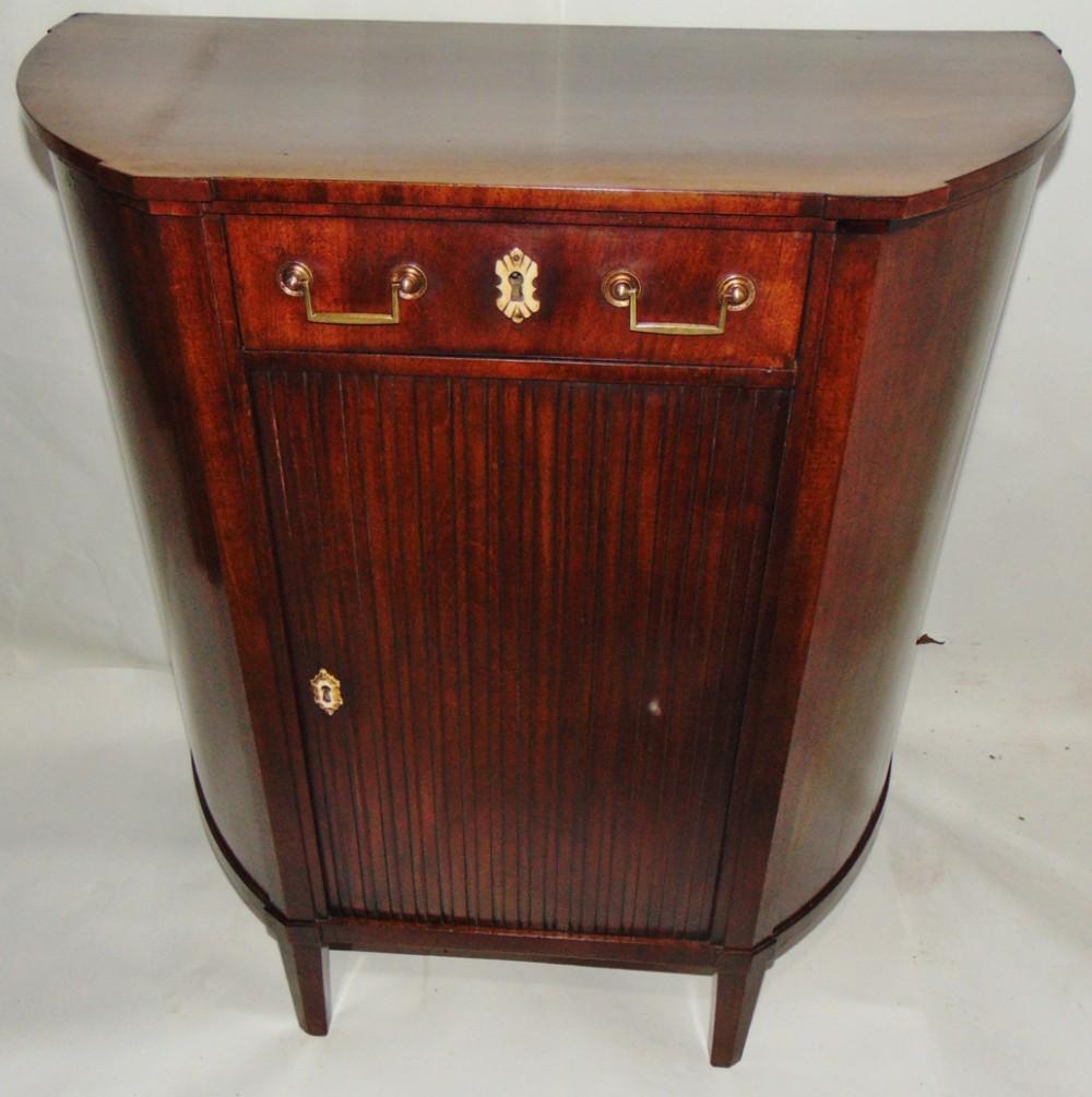 dutch mahogany side cabinet circa 1780