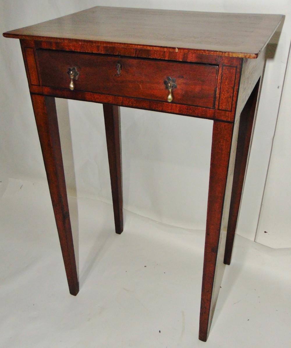 small georgian mahogany side table circa 1810