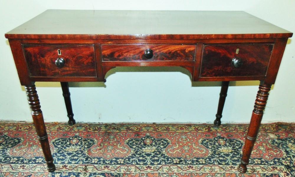 georgian mahogany dressing table circa 1825