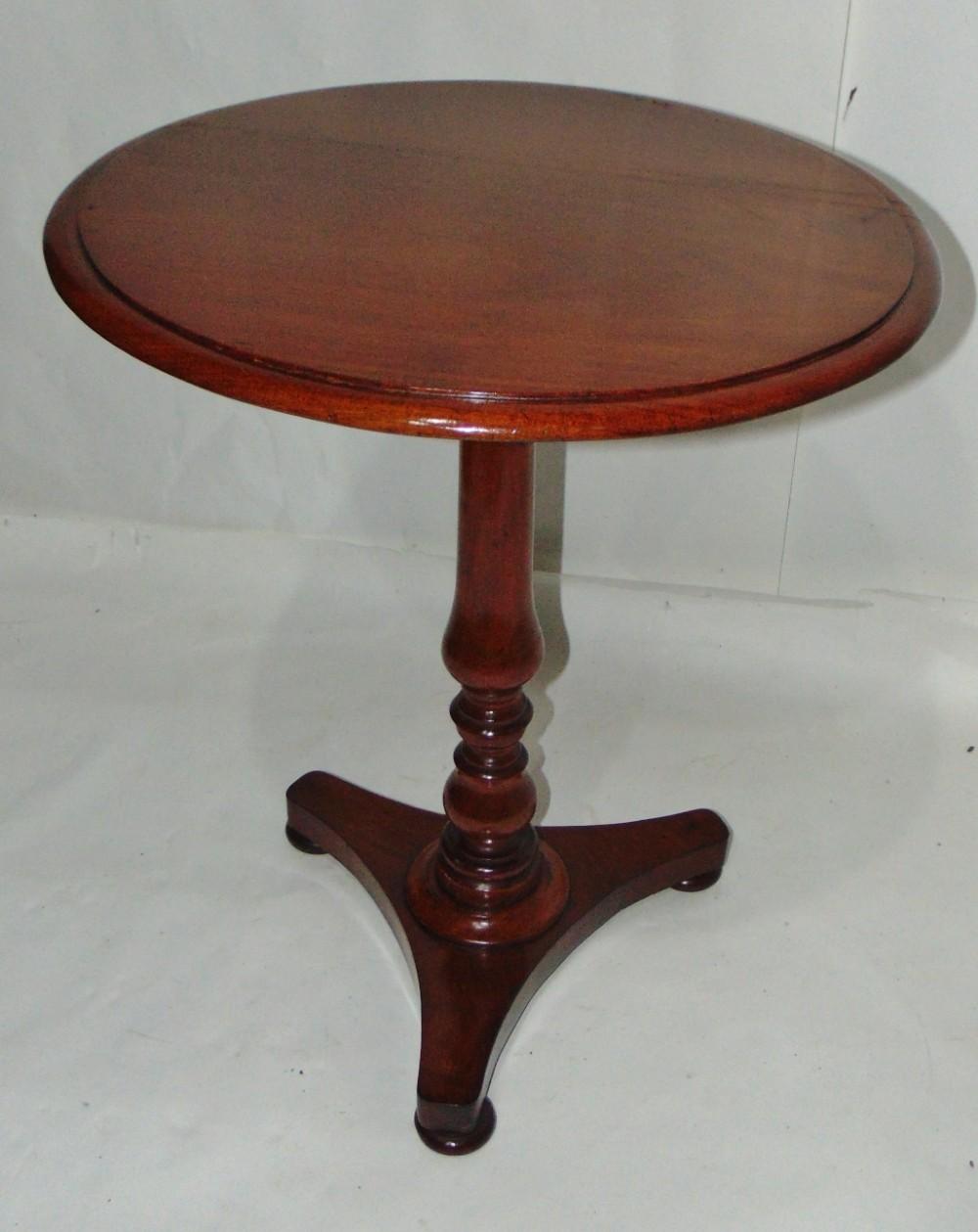 regency mahogany pedestal table circa 1830