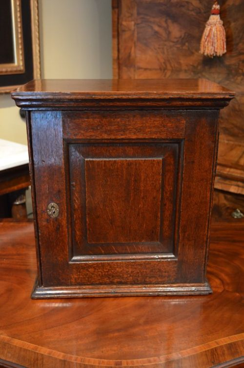 fabulous 18th century oak spice cupboard with wonderful colour and  patination - Fabulous 18th Century Oak Spice Cupboard With Wonderful Colour And