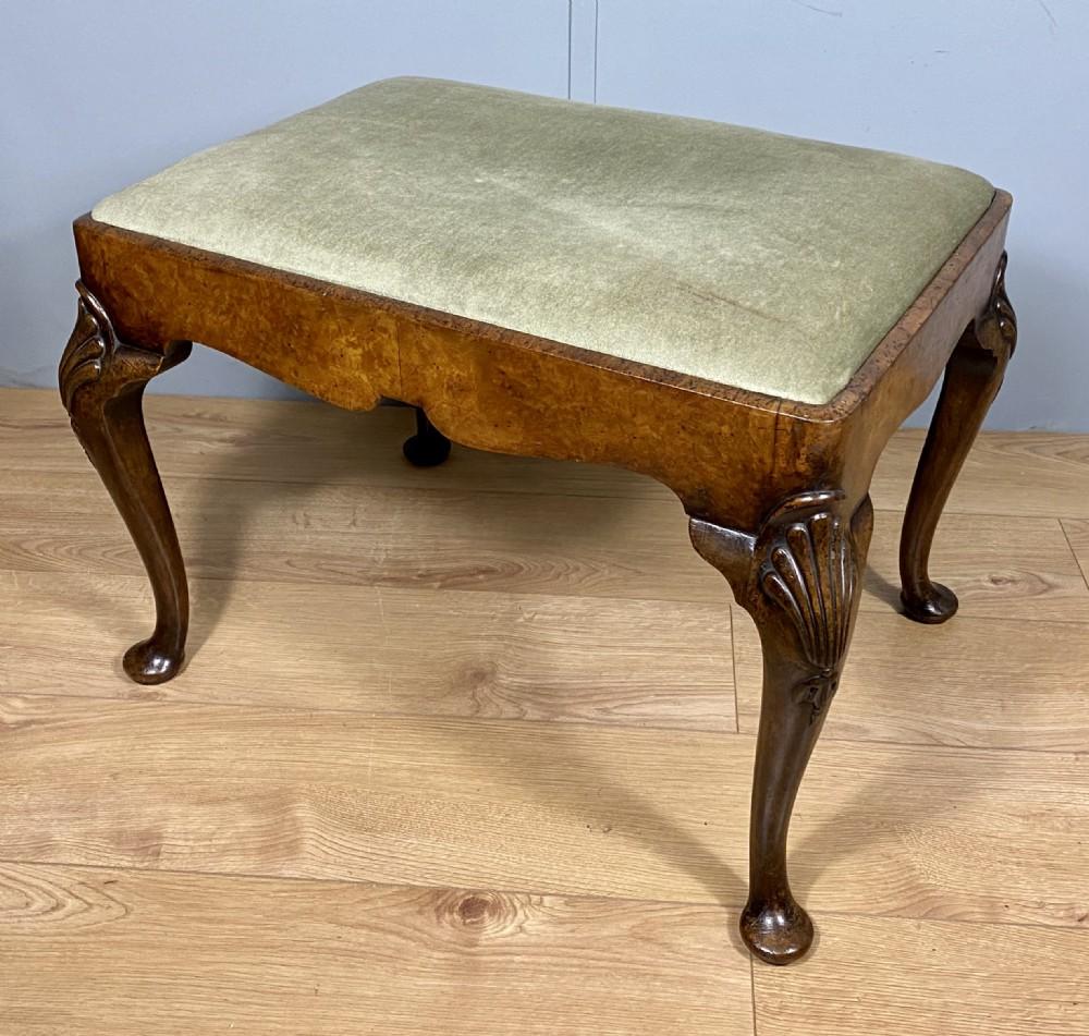 walnut stool by charles tozer