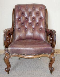 Daniel Clark FurnitureAntique Library Chairs   The UK s Largest Antiques Website. Antique Library Armchairs. Home Design Ideas