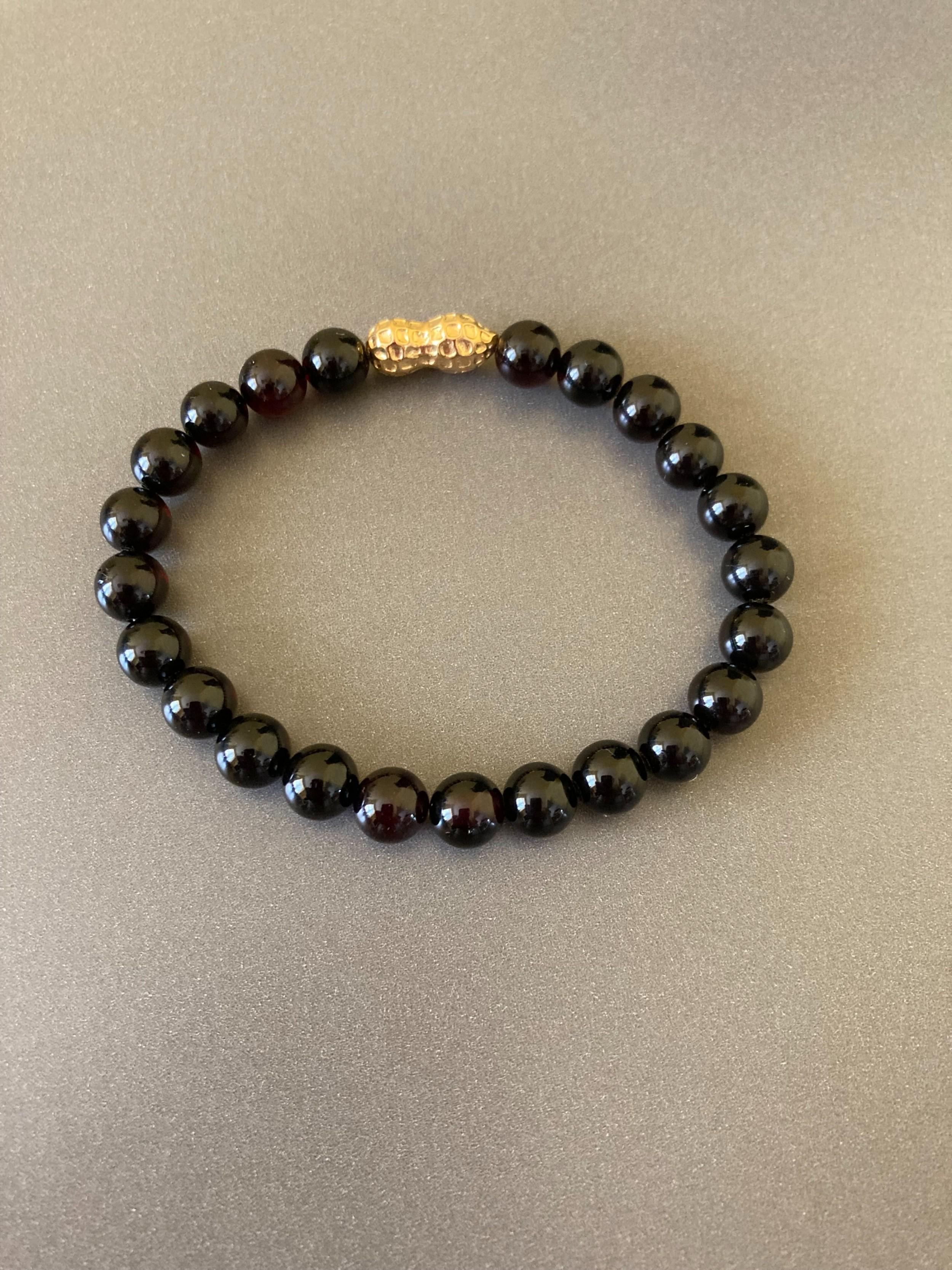 danish amber bracelet 1960s