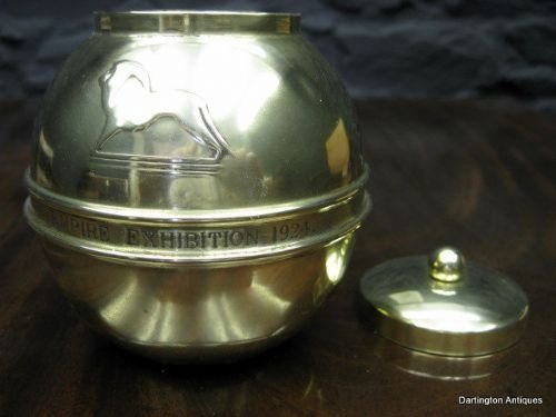 lipton's souvenir tea caddy for the british empire exhibition 1924 - photo angle #5