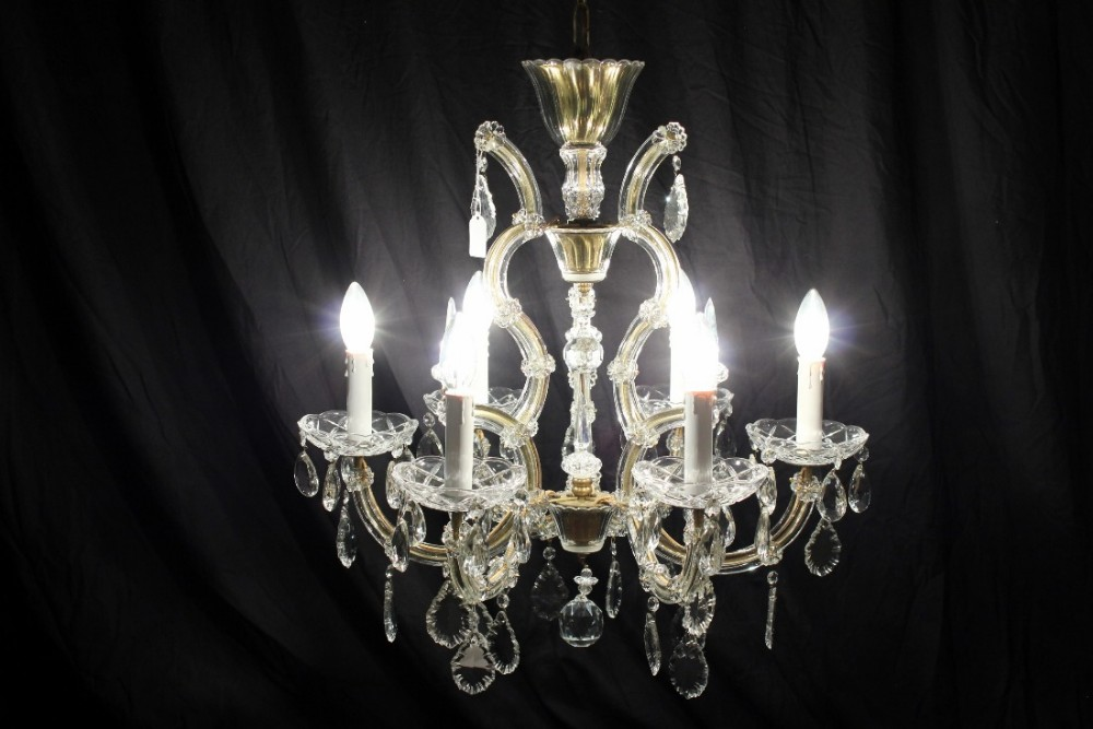 Harriette A Classic Marie Therese Vintage French Chandelier