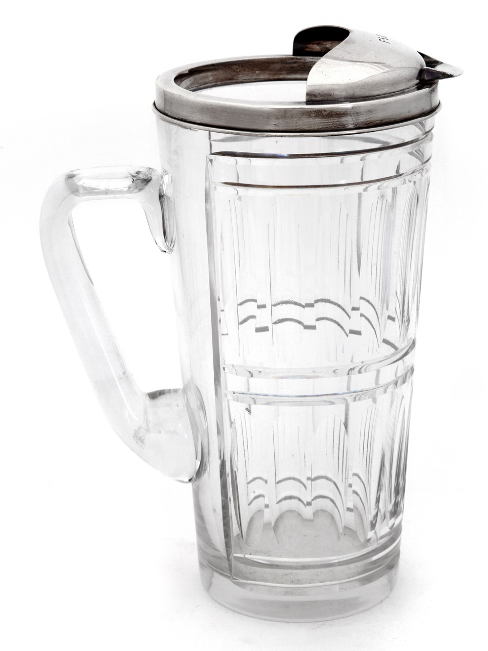 chunky tiffany sterling silver water jug or pitcher