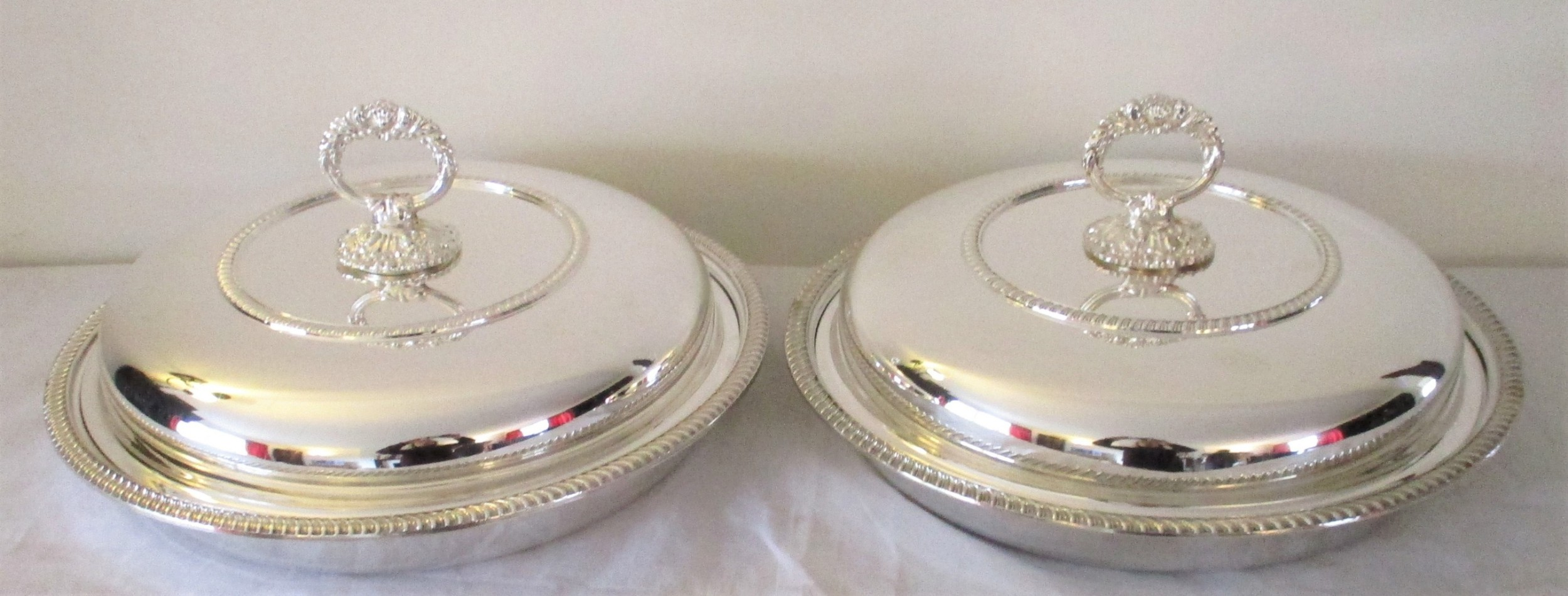 fabulous pair of large silver plated tureens harrods 14