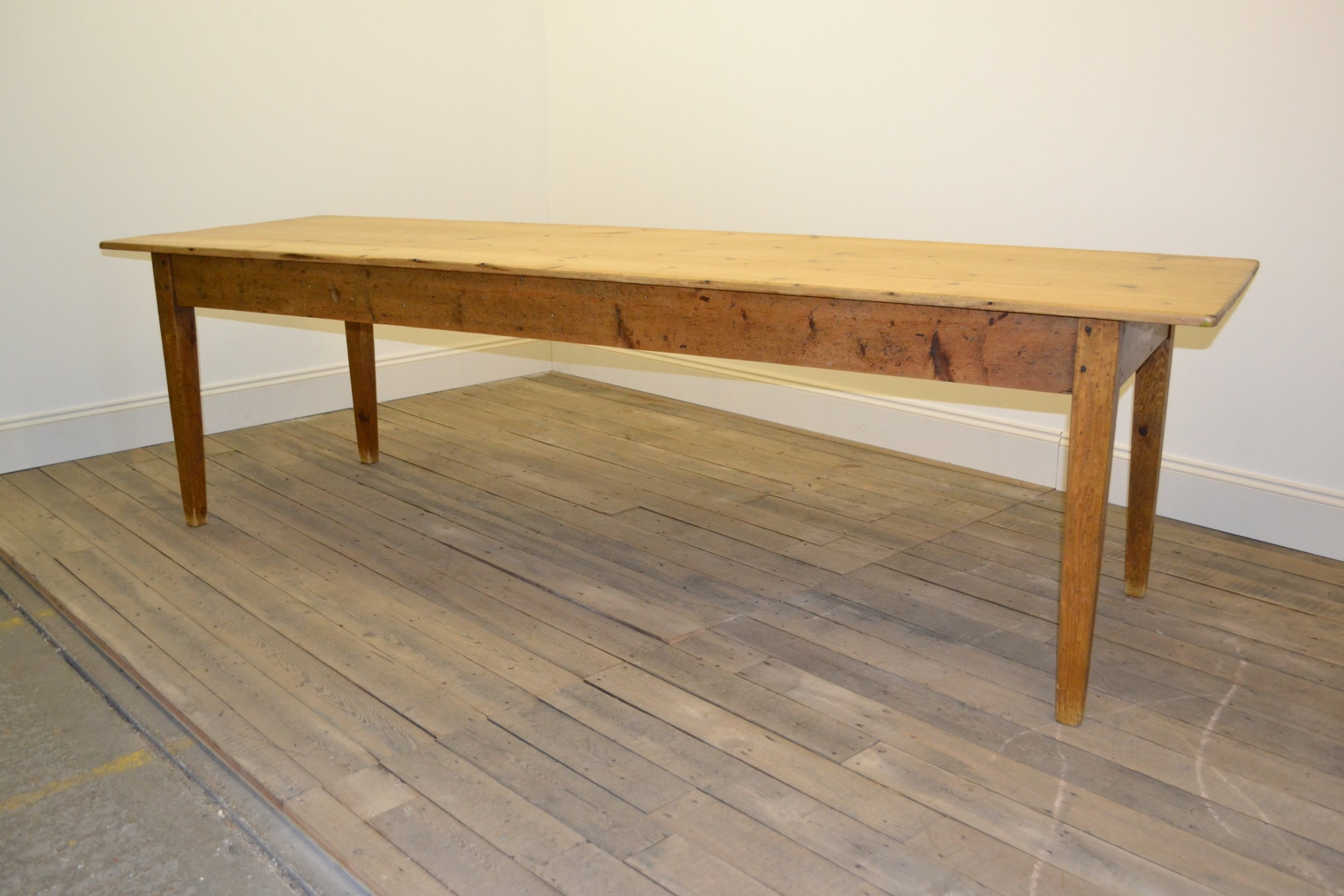 Victorian Farmhouse Table 9ft Long | 596454 | Sellingantiques co uk