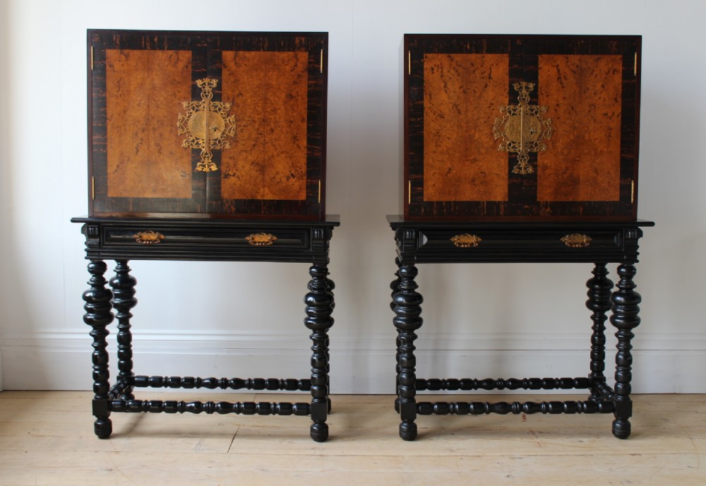 pair of 20th century cabinets