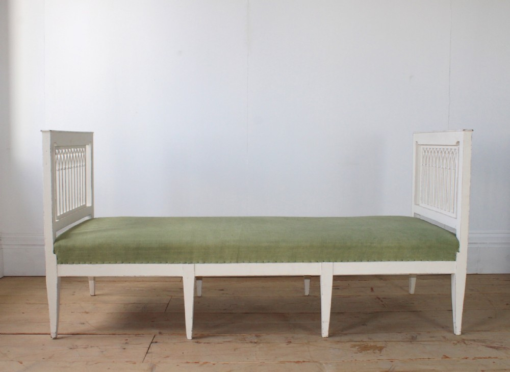 19th century restored gothic day bed