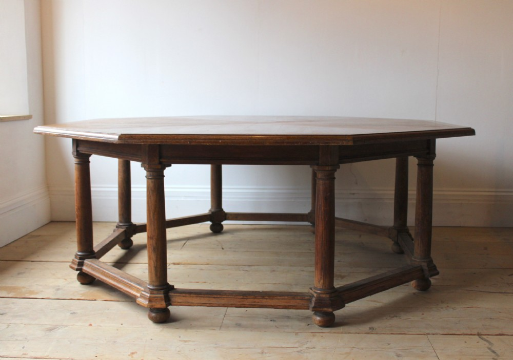 large 19th century centre table