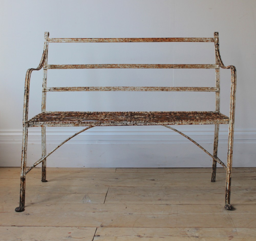 19th century regency bench