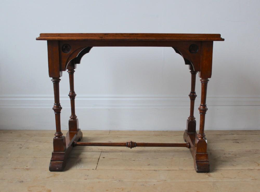 19th century pugin style table