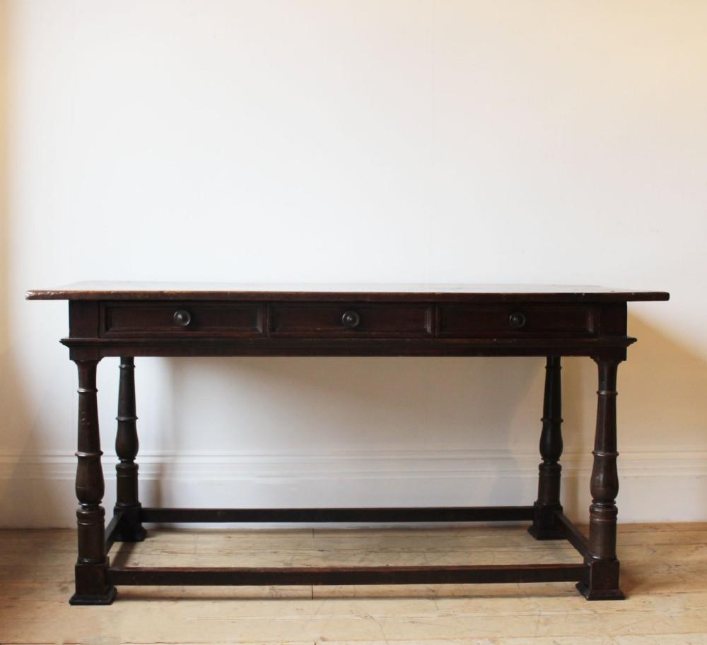 18th century table