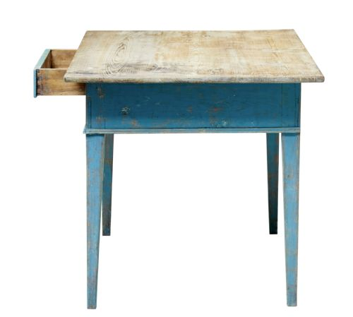 Excellent 19Th Century Rustic Swedish Painted Pine Table 554504 Download Free Architecture Designs Embacsunscenecom