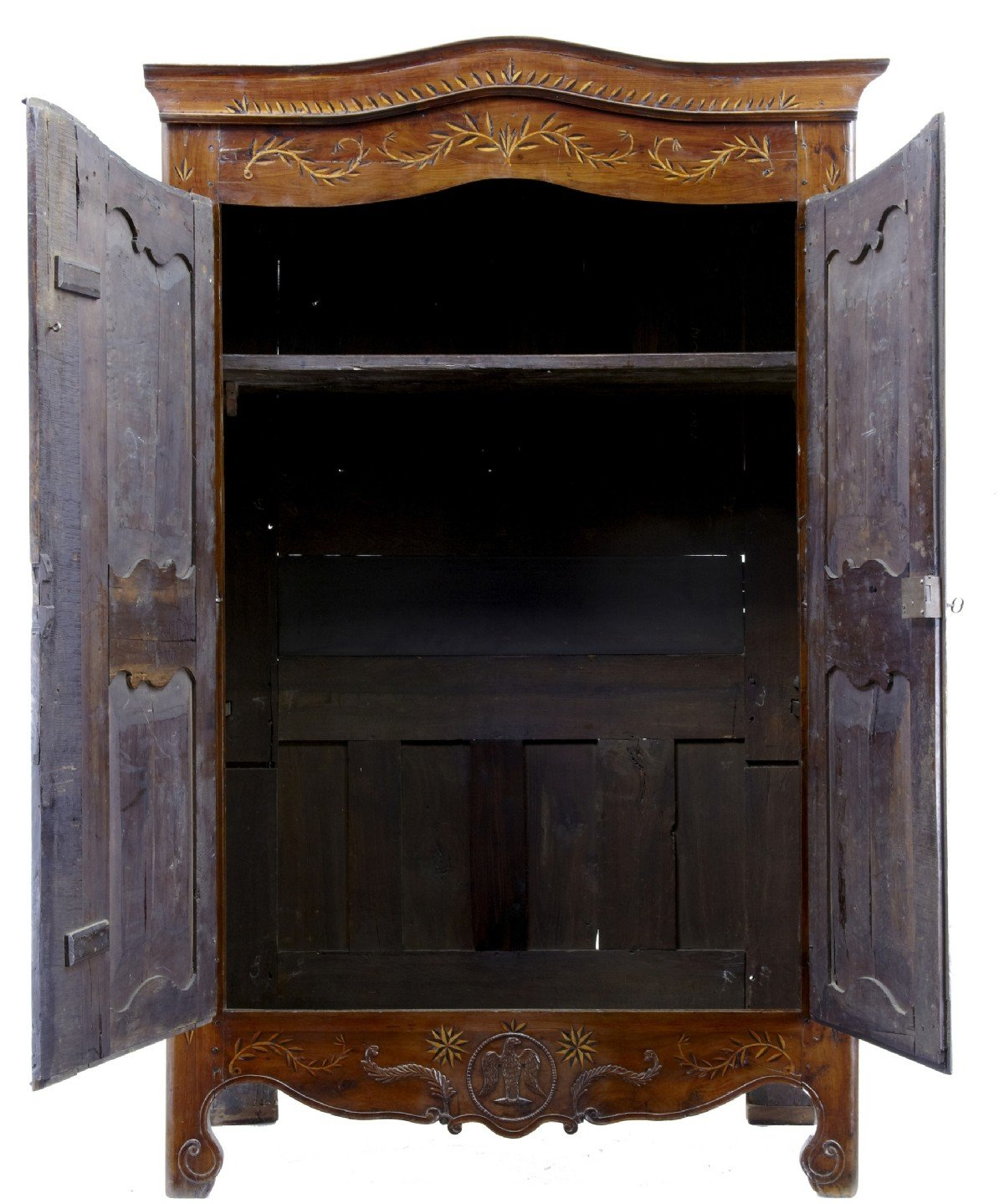 : Antique Wardrobes Antique Armoire Wardrobes Antique Yew Wardrobes . Full resolution  img, nominally Width 1200 Height 1438 pixels, img with #926A39.
