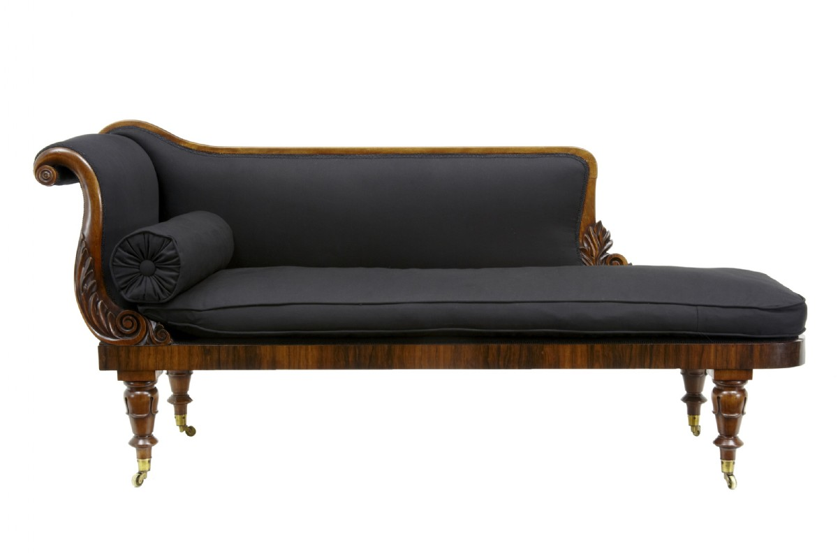 Antiques the uk 39 s largest antiques website for Antique chaise lounge