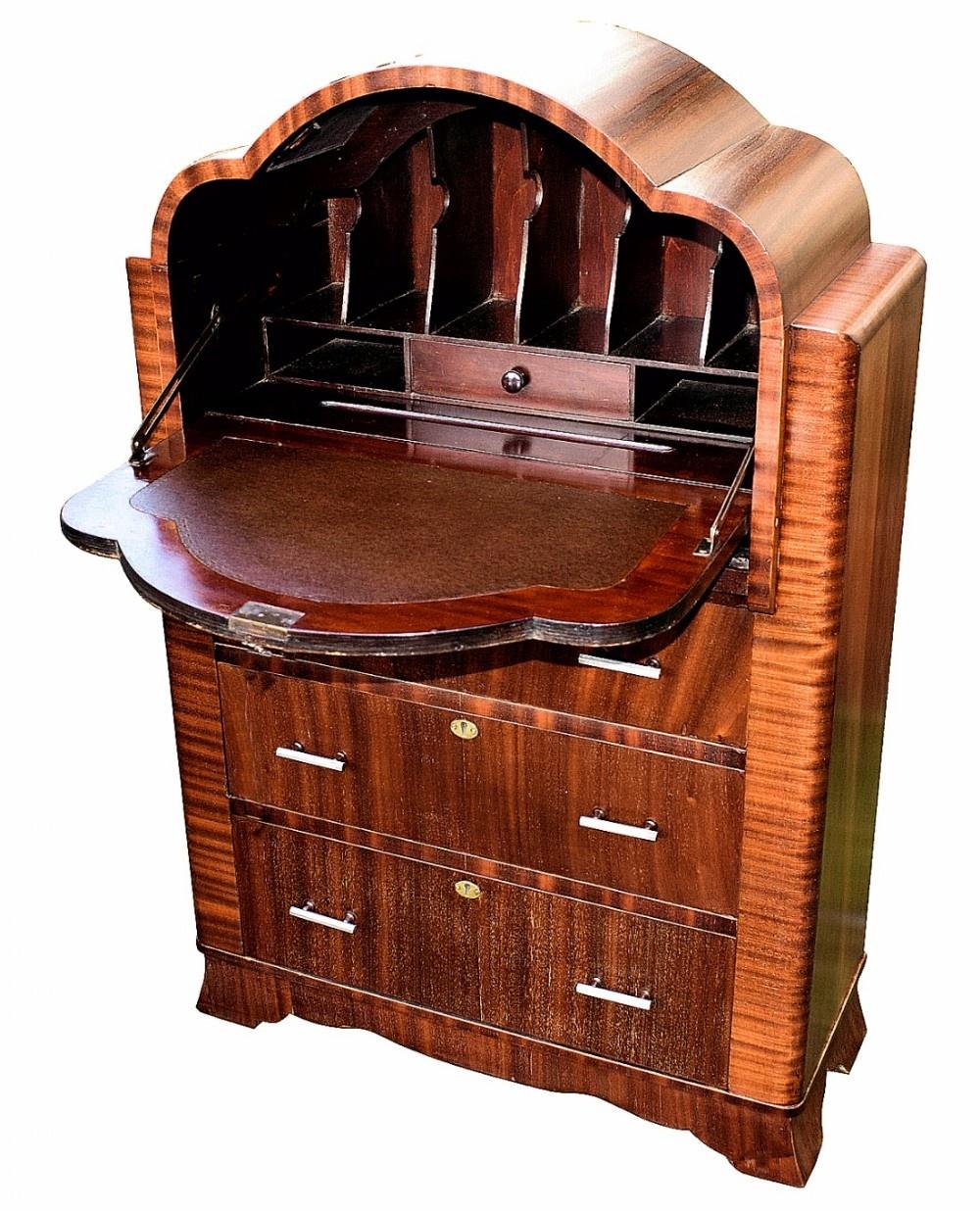 art deco cloud bureau 463572. Black Bedroom Furniture Sets. Home Design Ideas