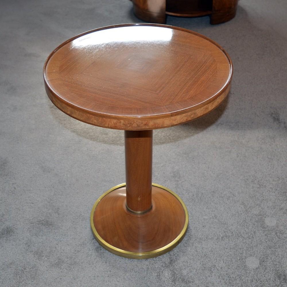 Fine art deco walnut occasional wine table 462264 - Deco table campagne ...