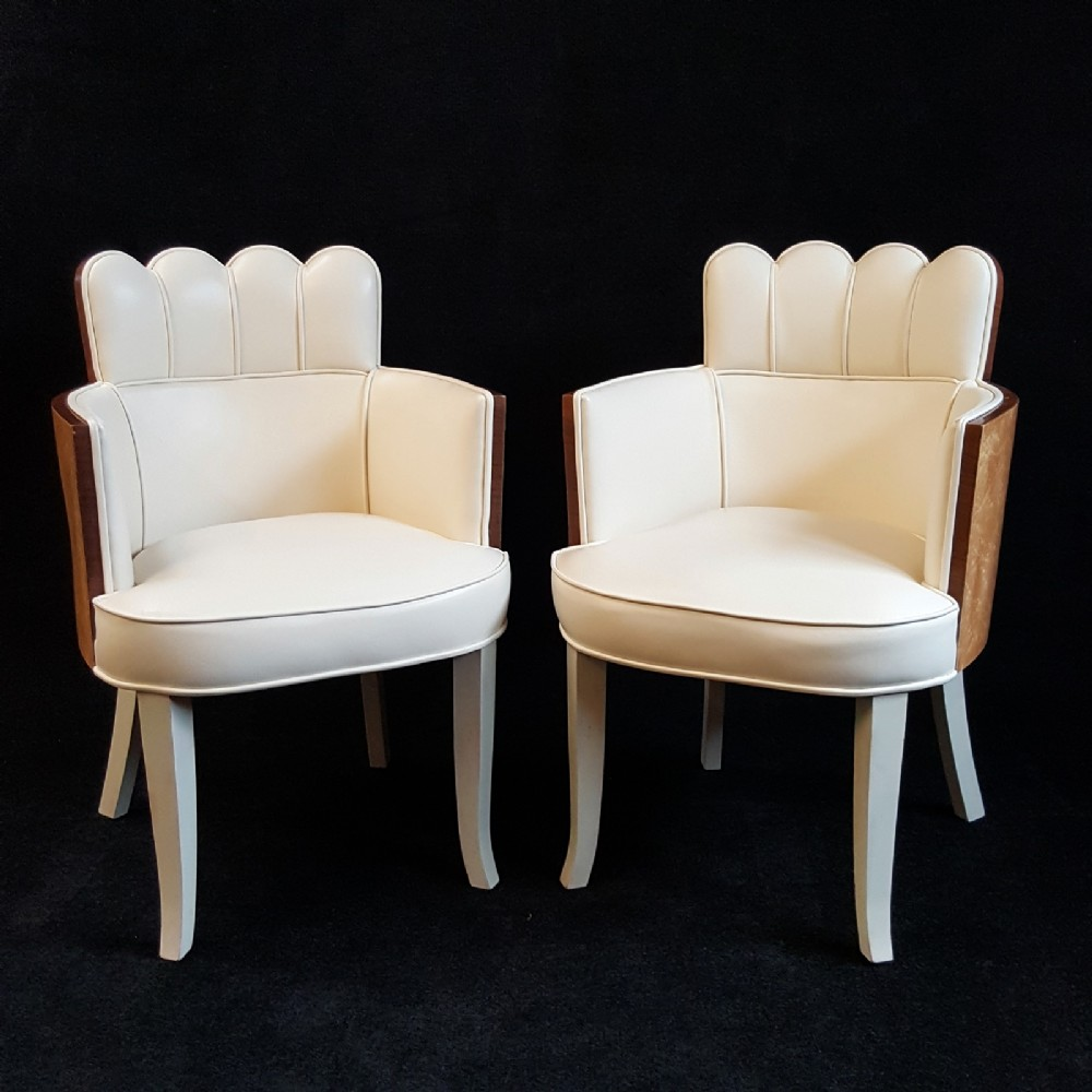 Art Deco Salon Chairs | 499153 | Sellingantiques.co.uk