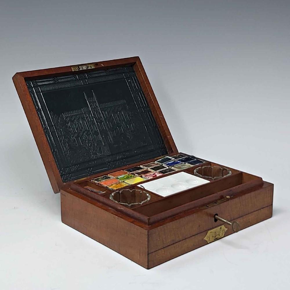 antique artist's box by jnewmans
