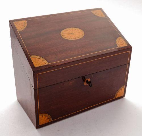 gorgeous edwardian sheridan revival document box circa 1905