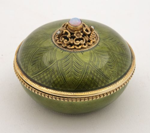 fabulous austrianhungarian enamelled silver gilt bowl cover circa 1900
