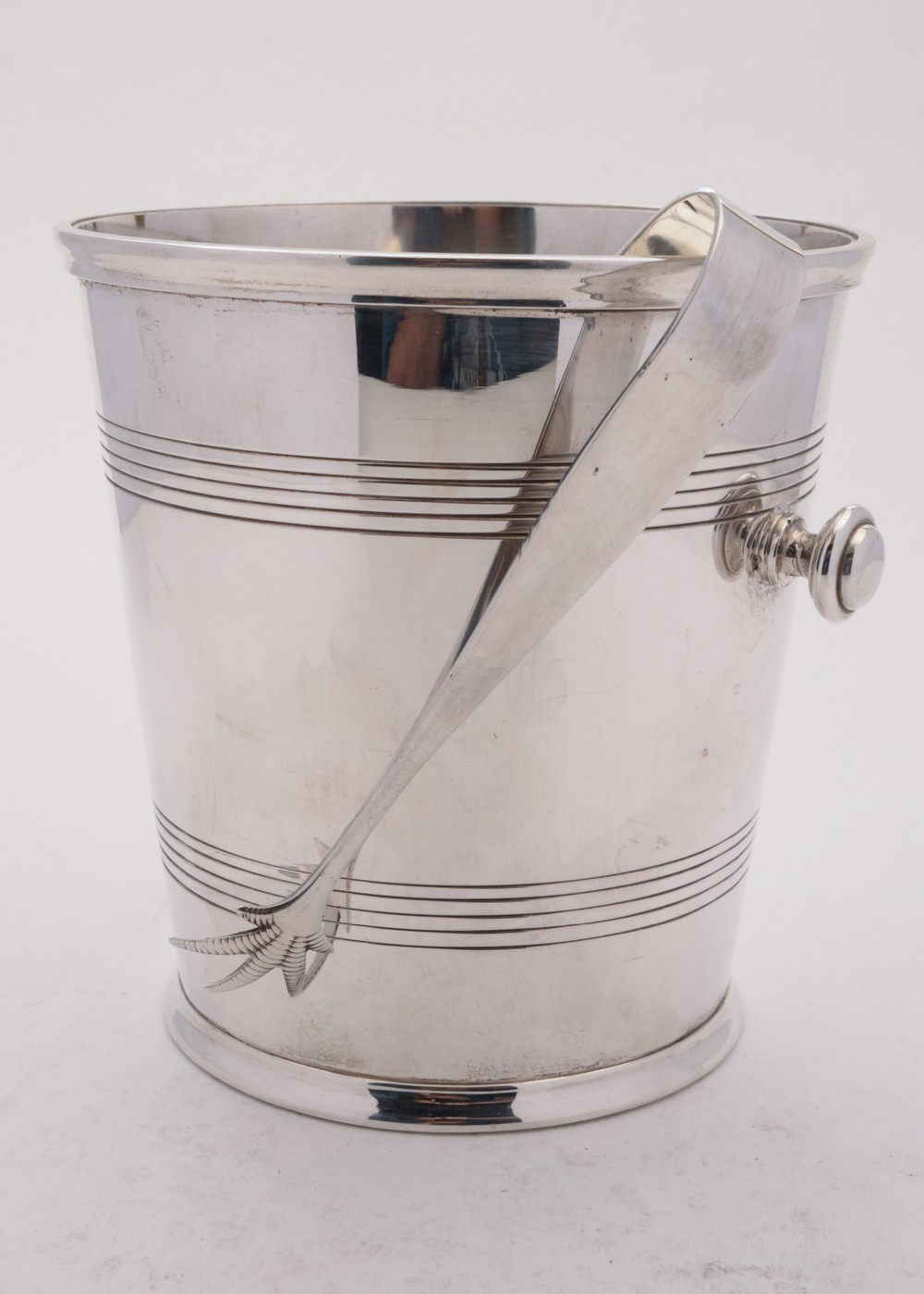superb art deco silver plated champagneice bucket circa 1930