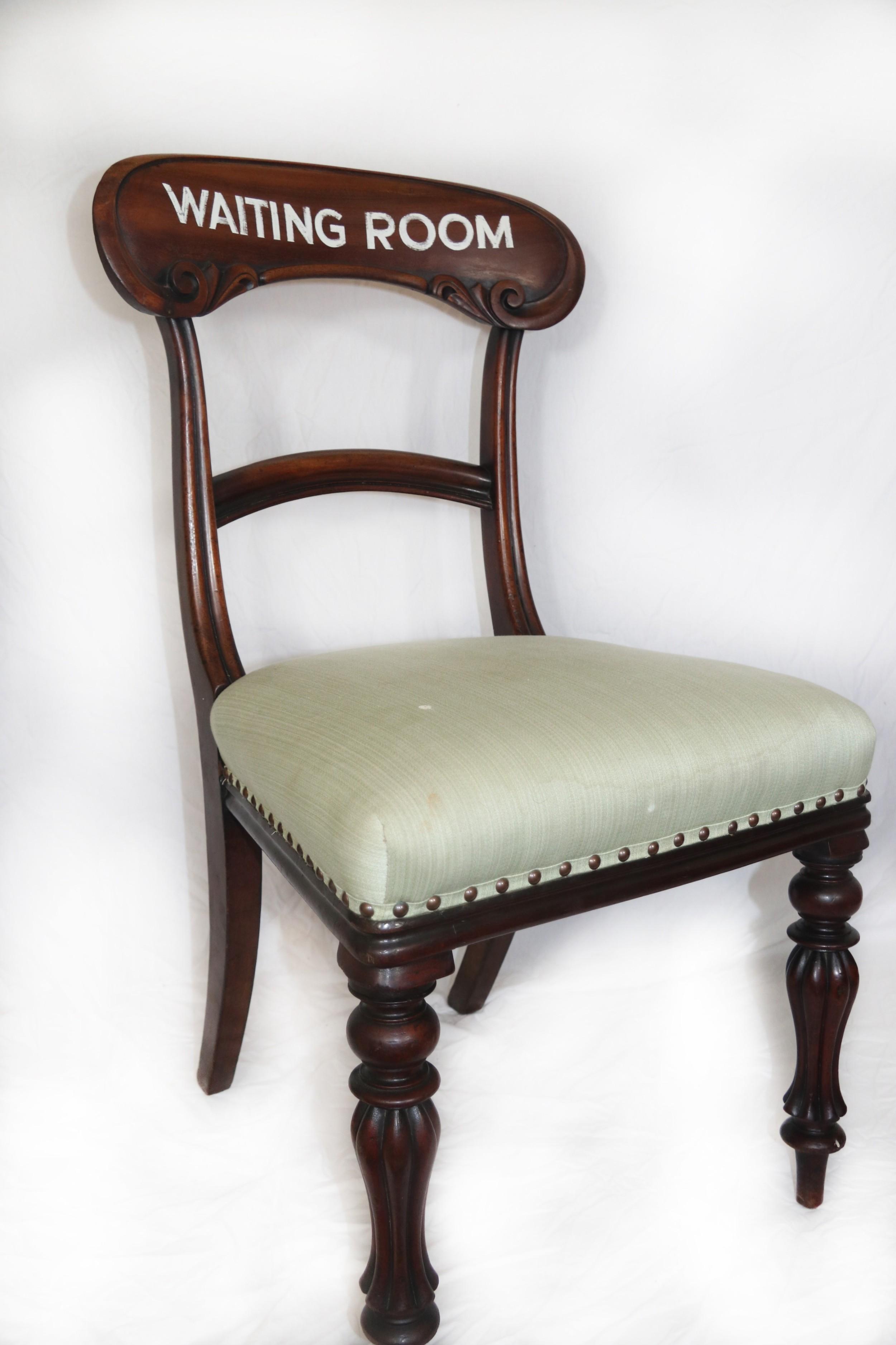 llangollen waiting room chair