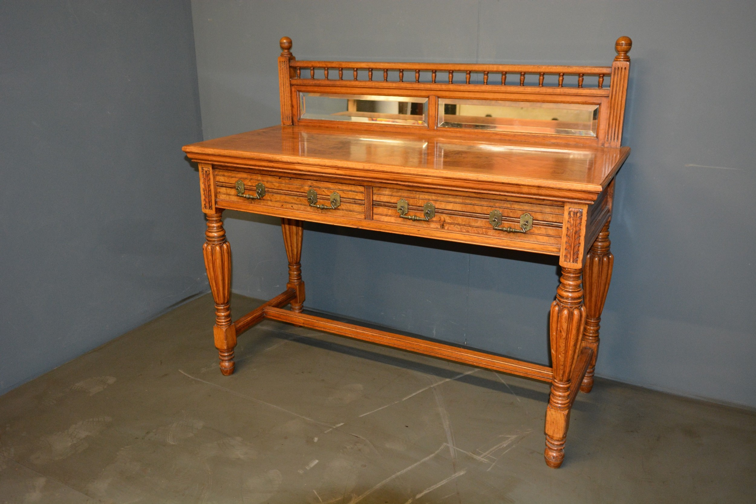pollard oak hall table