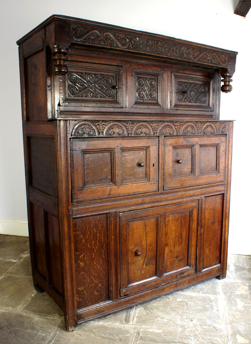 dated westmorland court cupboard