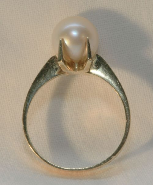 antique gold pearl ring 214281 sellingantiques co uk