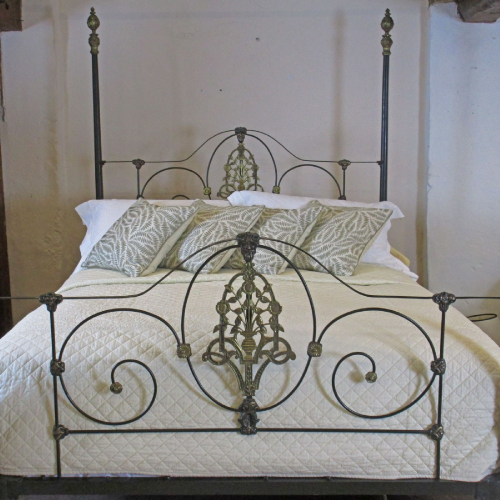 Cast Iron Four Poster Bed M4p11 361615