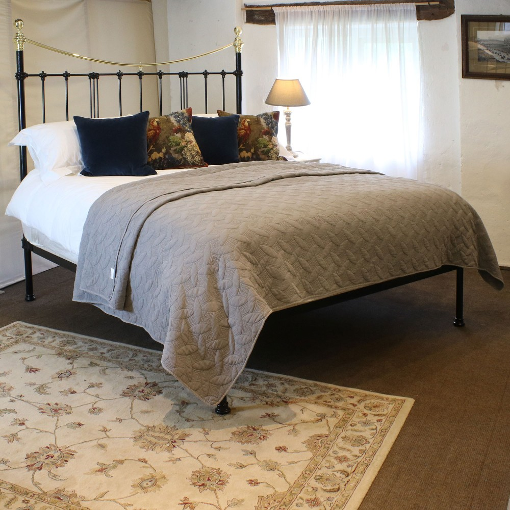 extra wide platform style bed